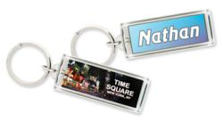 LaserGifts Solar Flashing Key Ring